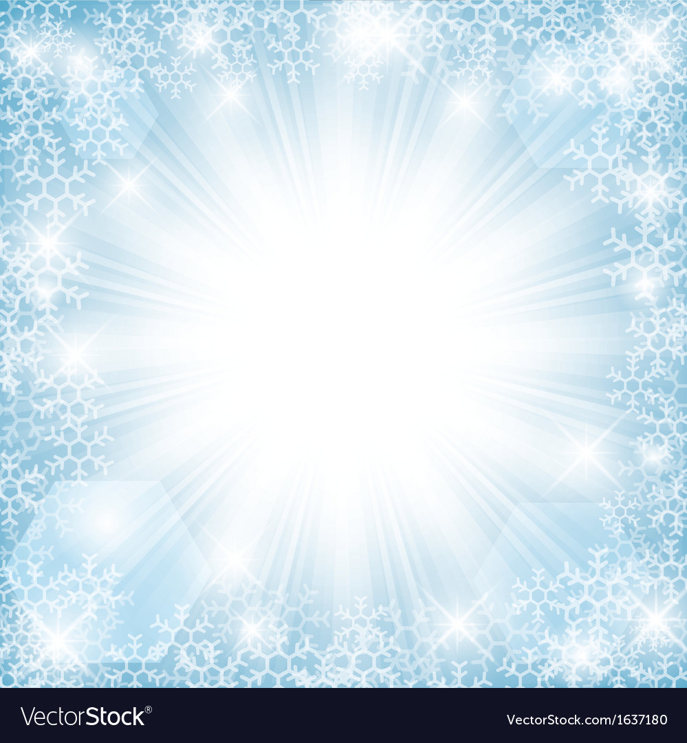 Winter sun vector | Price: 1 Credit (USD $1)