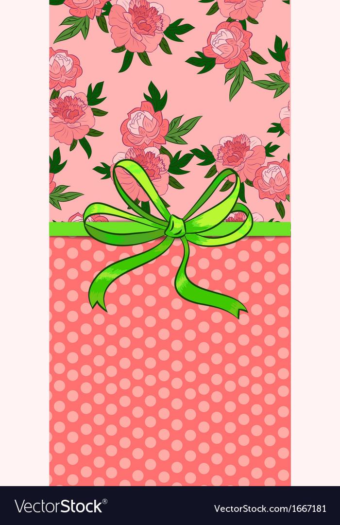 Beautiful greeting card vector | Price: 1 Credit (USD $1)