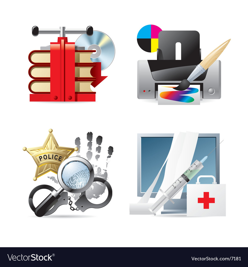 Computer and web icons v vector | Price: 5 Credit (USD $5)