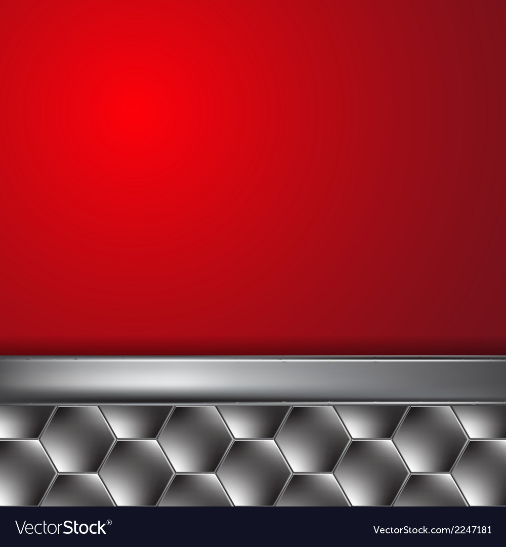 Metal background with place for text vector | Price: 1 Credit (USD $1)