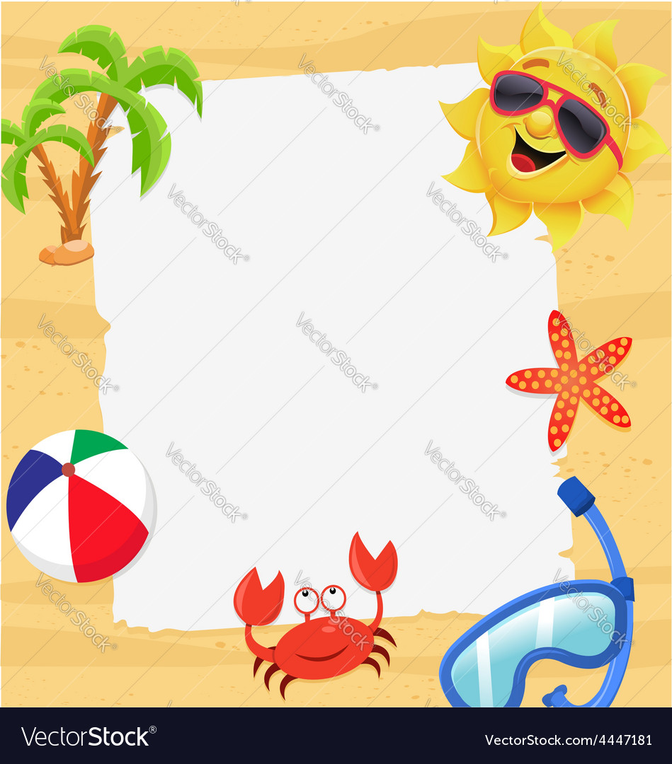 Summer note vector | Price: 1 Credit (USD $1)