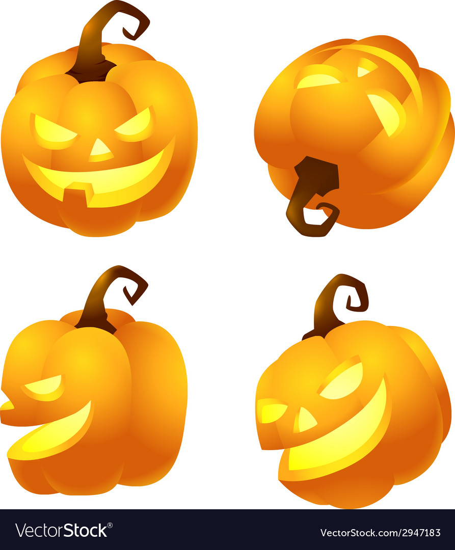Halloweenpumpkin vector | Price: 1 Credit (USD $1)