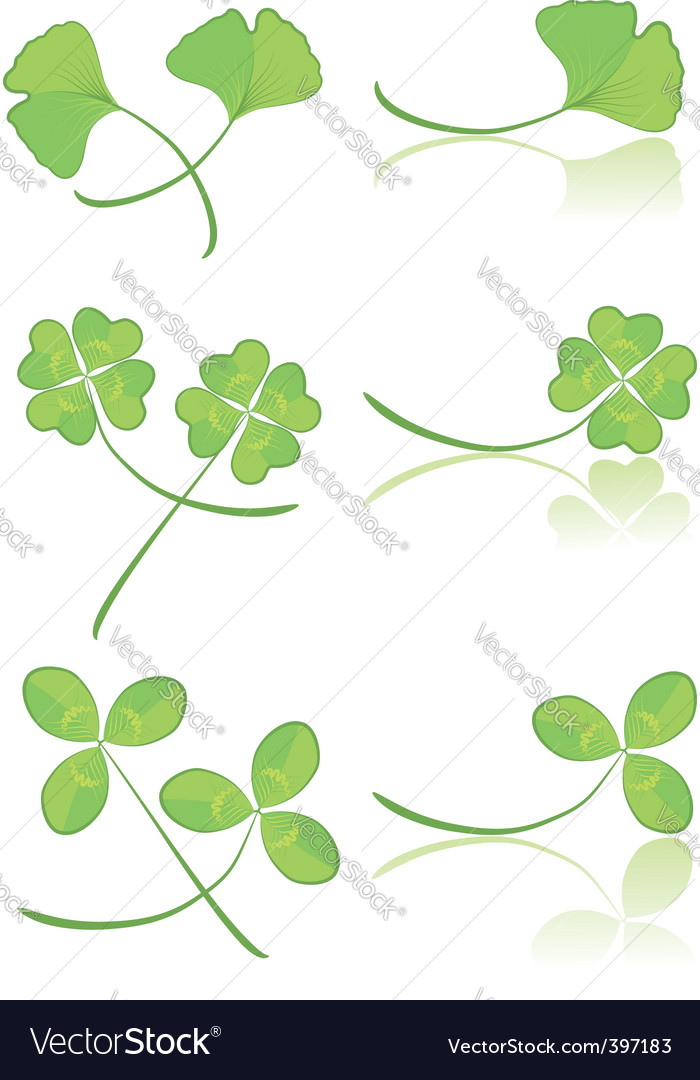 Leaves green vector | Price: 1 Credit (USD $1)