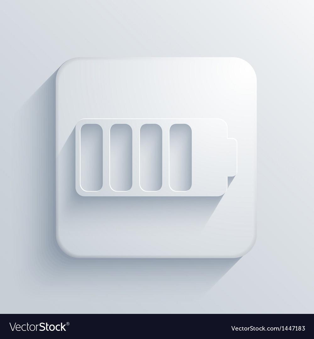 Light square icon eps10 vector | Price: 1 Credit (USD $1)