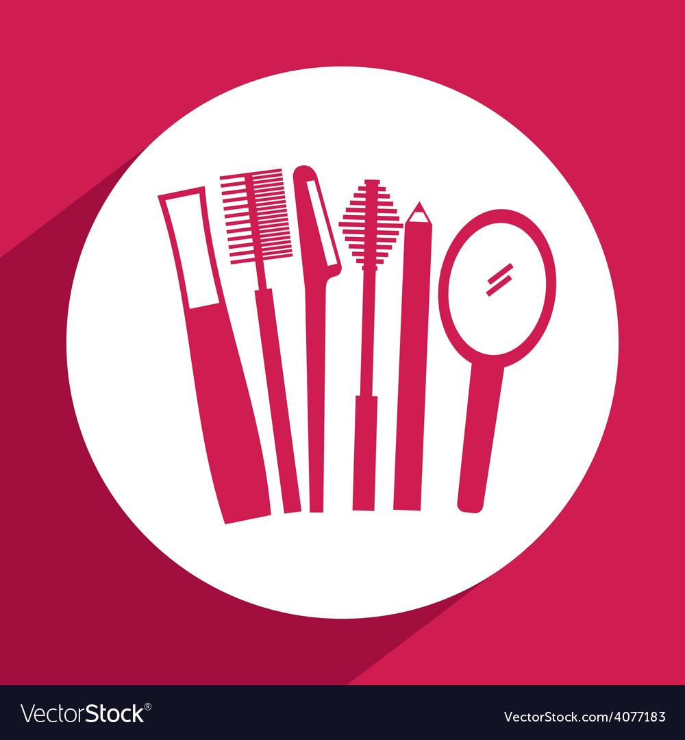 Makeup kit vector | Price: 1 Credit (USD $1)