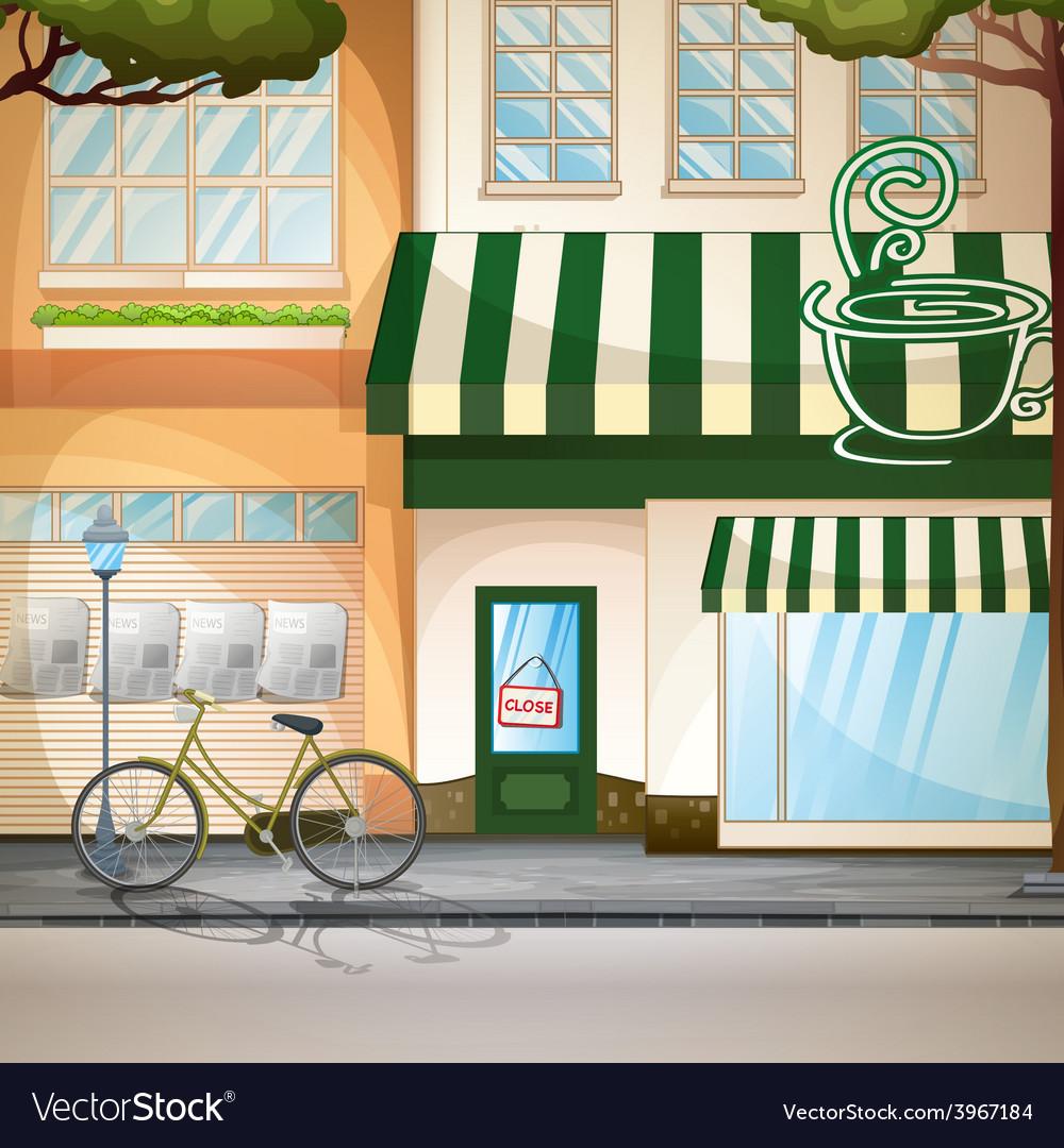 Coffee shop vector | Price: 3 Credit (USD $3)