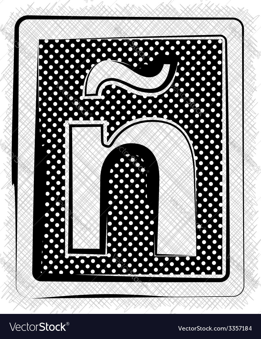 Polka dot font letter vector   Price: 1 Credit (USD $1)
