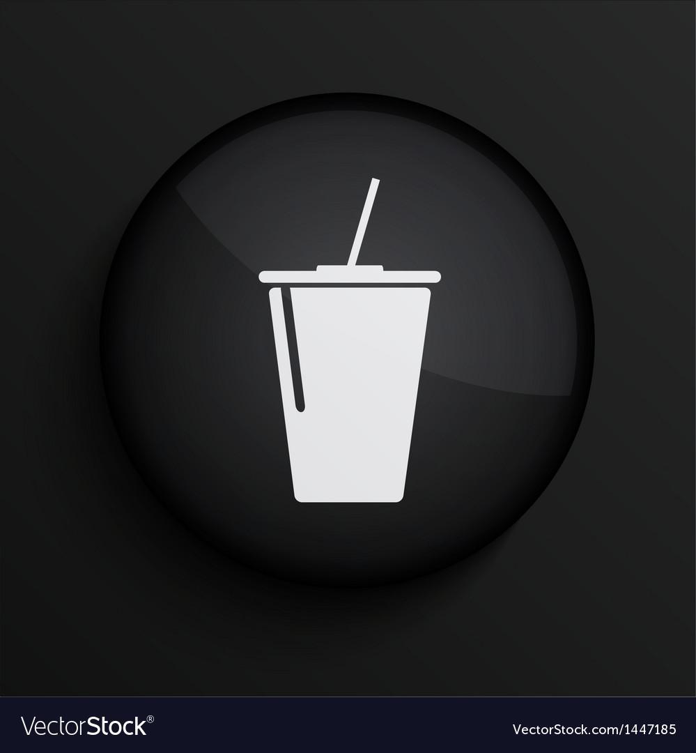 Black circle icon eps10 vector | Price: 1 Credit (USD $1)