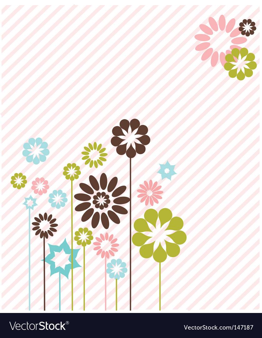 Floral graphic design vector | Price: 1 Credit (USD $1)
