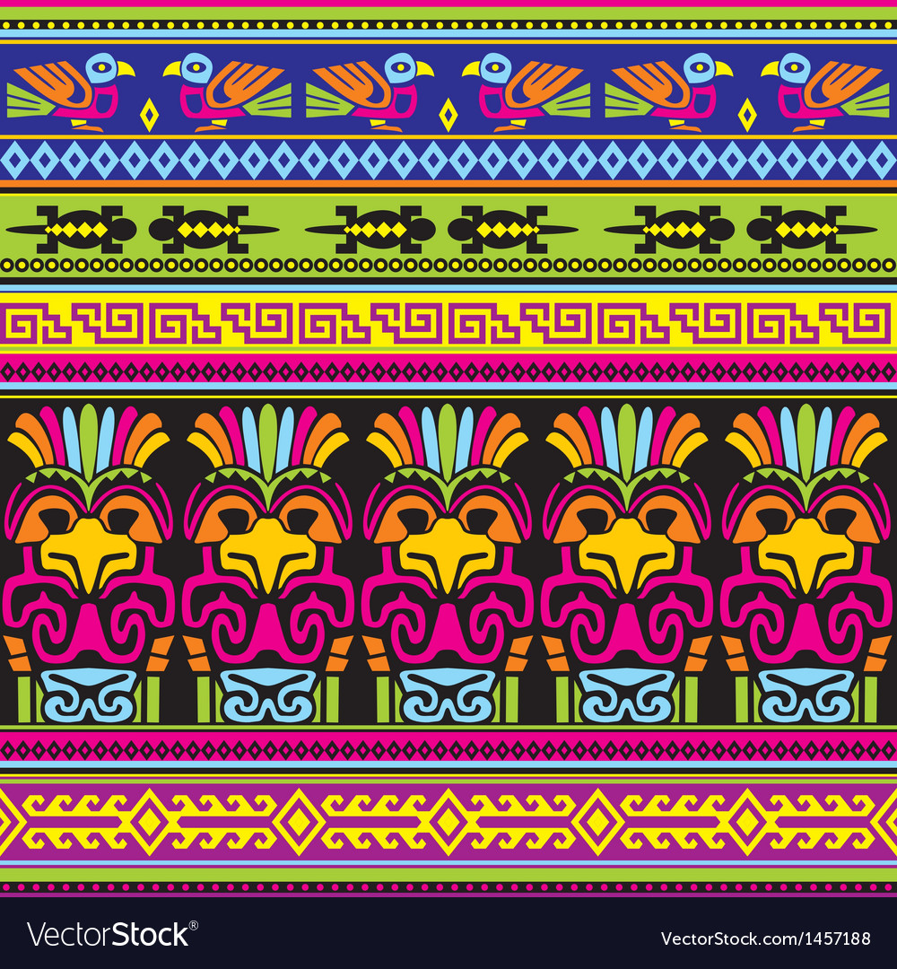 Animals mexican background vector   Price: 1 Credit (USD $1)