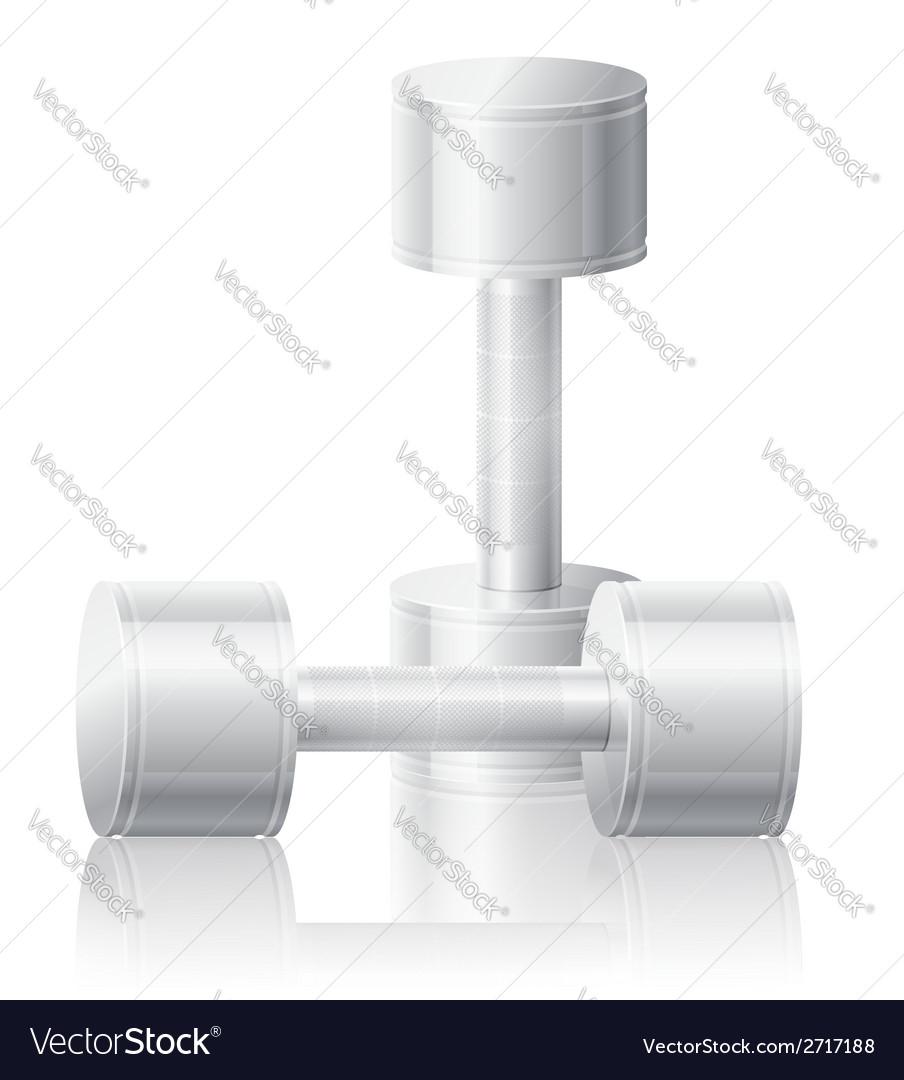 Dumbbells 06 vector | Price: 1 Credit (USD $1)