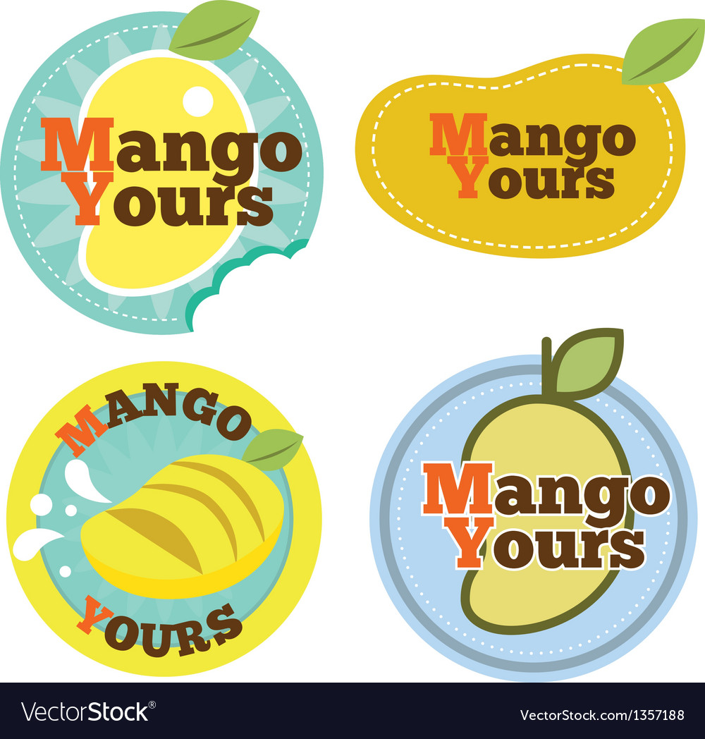 Mango logo vector | Price: 1 Credit (USD $1)