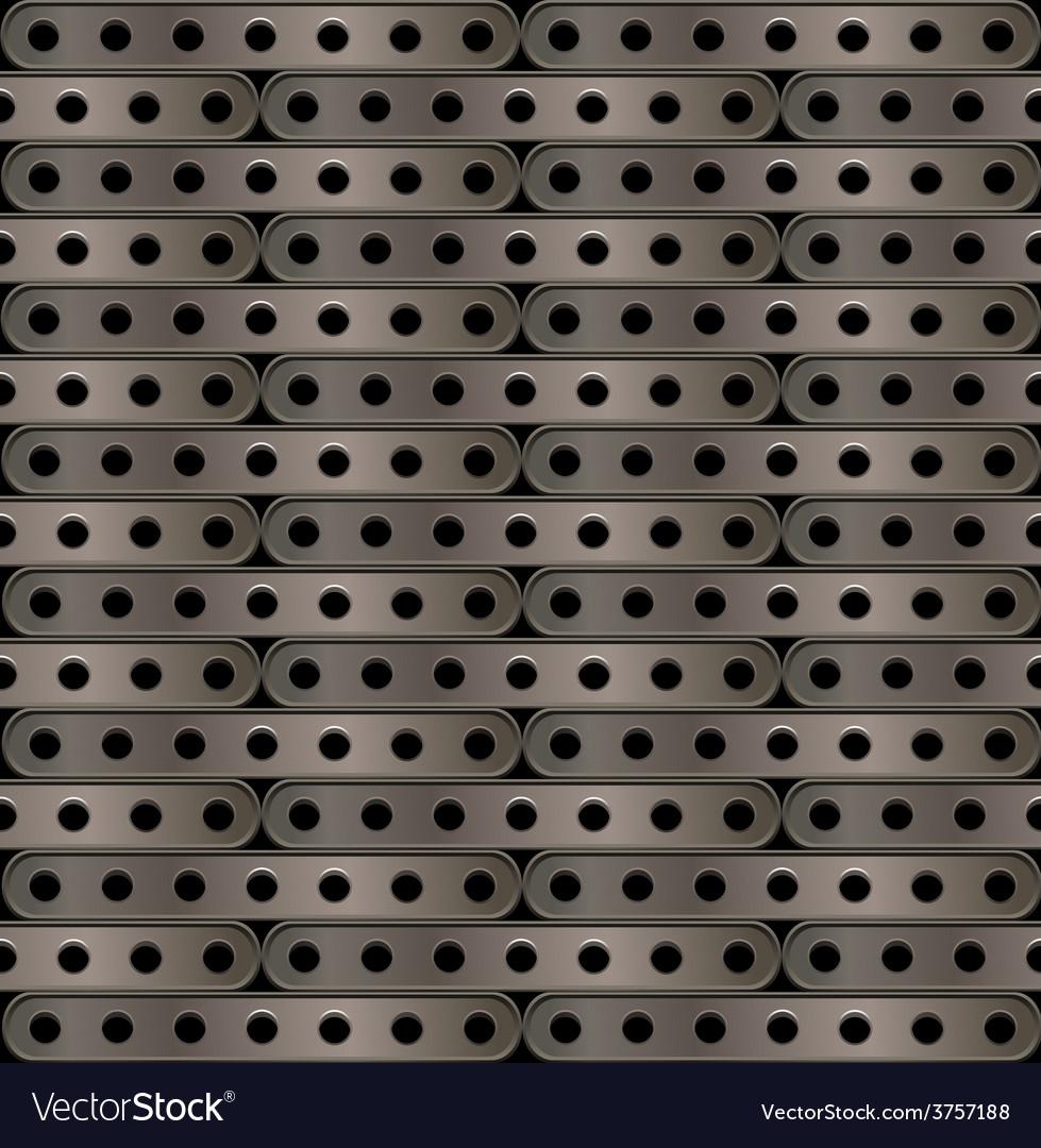 Metallic background plates steampunk vector | Price: 1 Credit (USD $1)