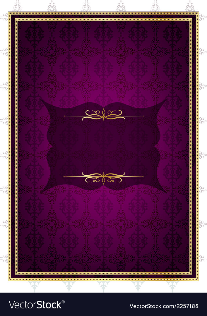 Purple celebrate card vector | Price: 1 Credit (USD $1)