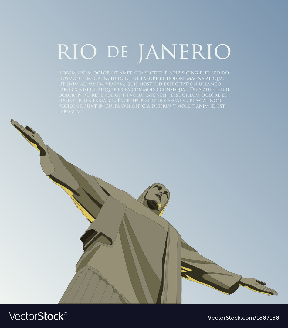 Rio background vector | Price: 1 Credit (USD $1)