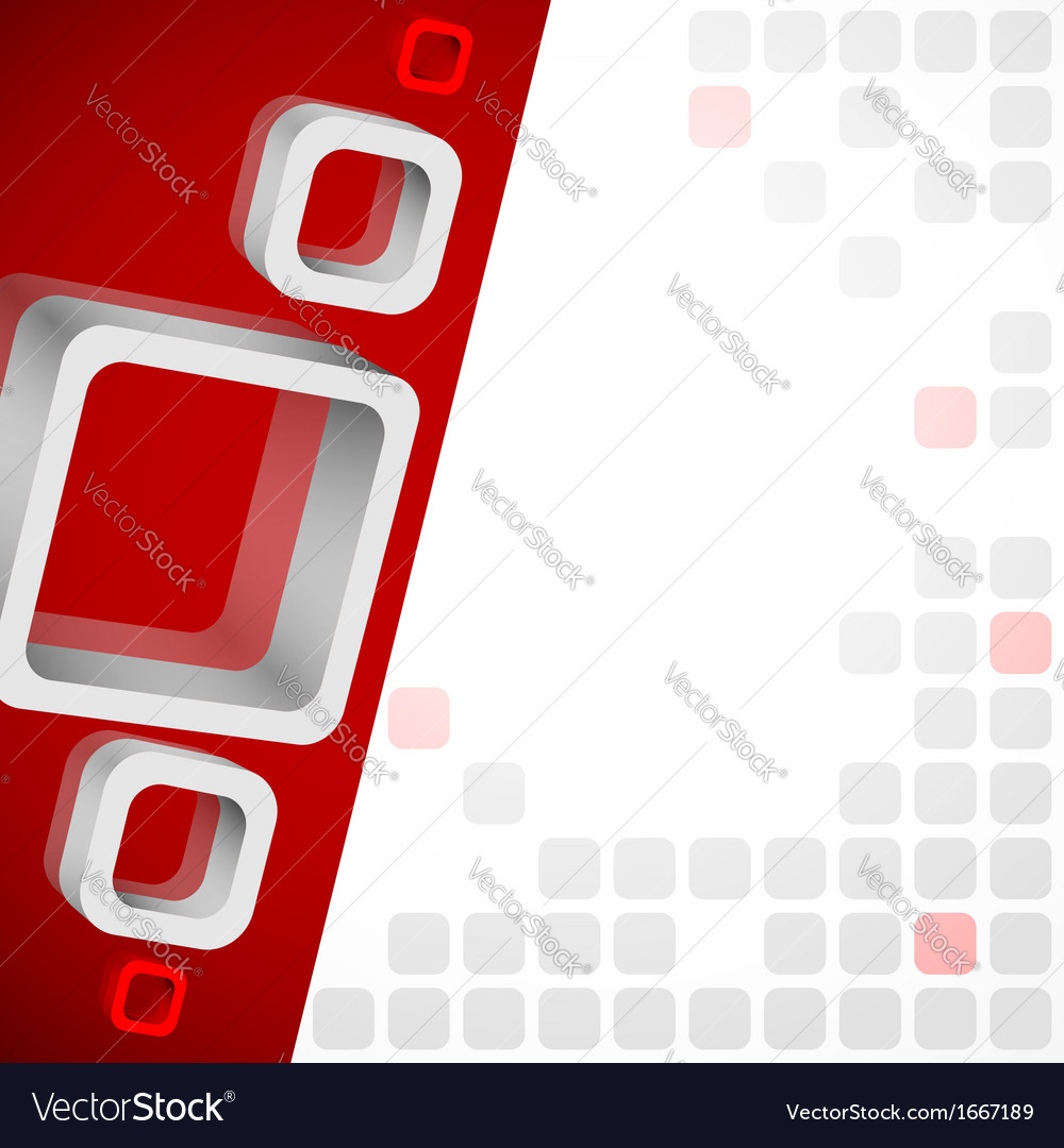 Abstract square background vector | Price: 1 Credit (USD $1)