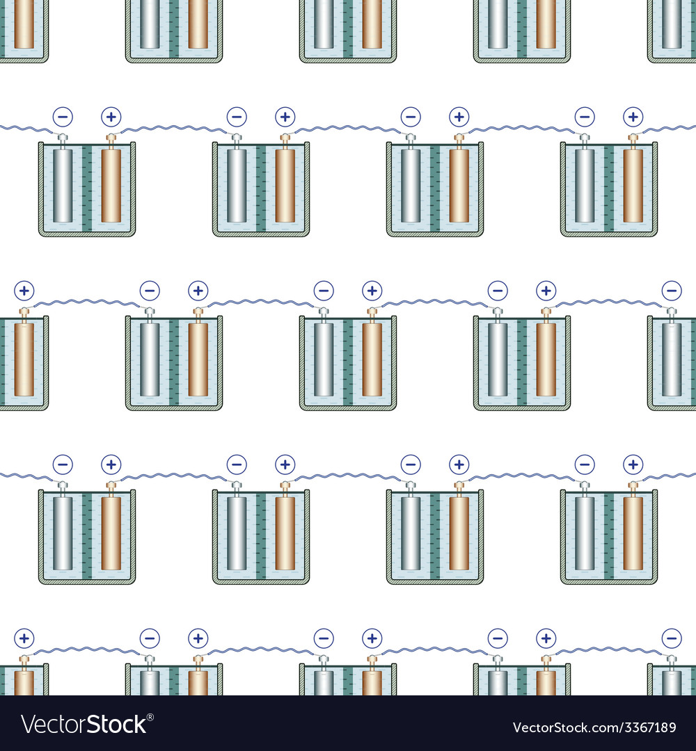 Battery pattern vector | Price: 1 Credit (USD $1)