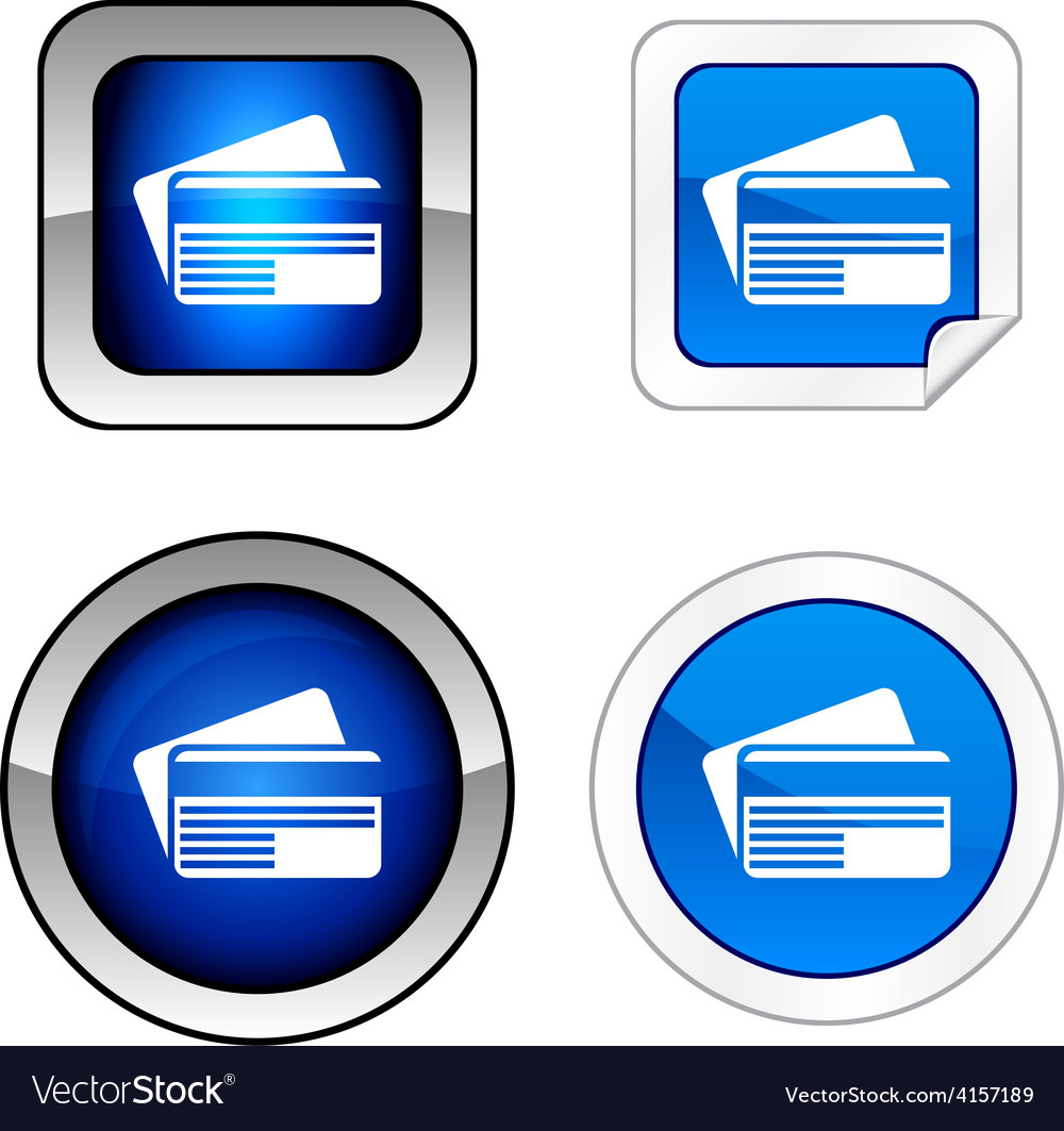 Card button set vector   Price: 1 Credit (USD $1)