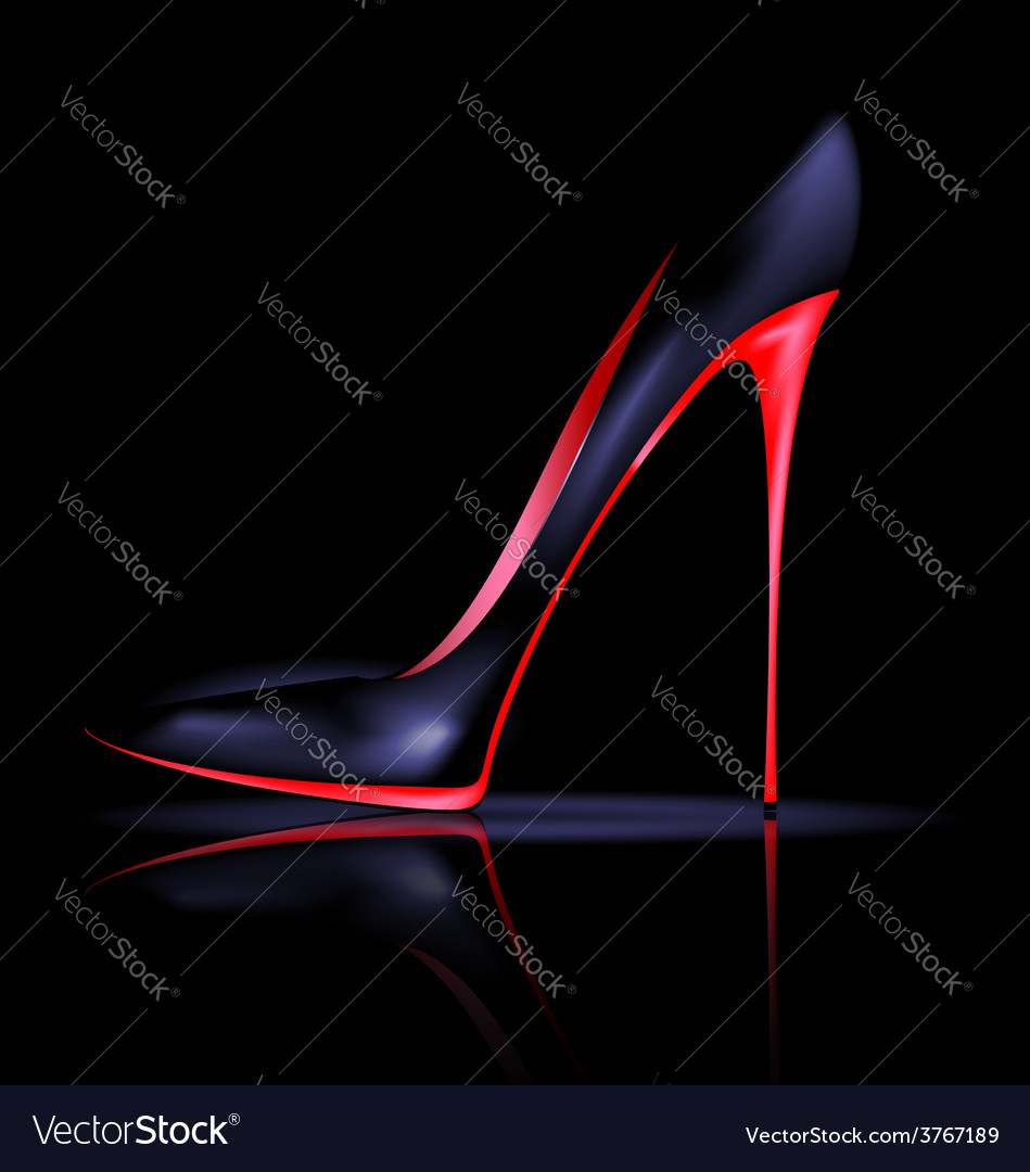 Dark shoe vector   Price: 1 Credit (USD $1)