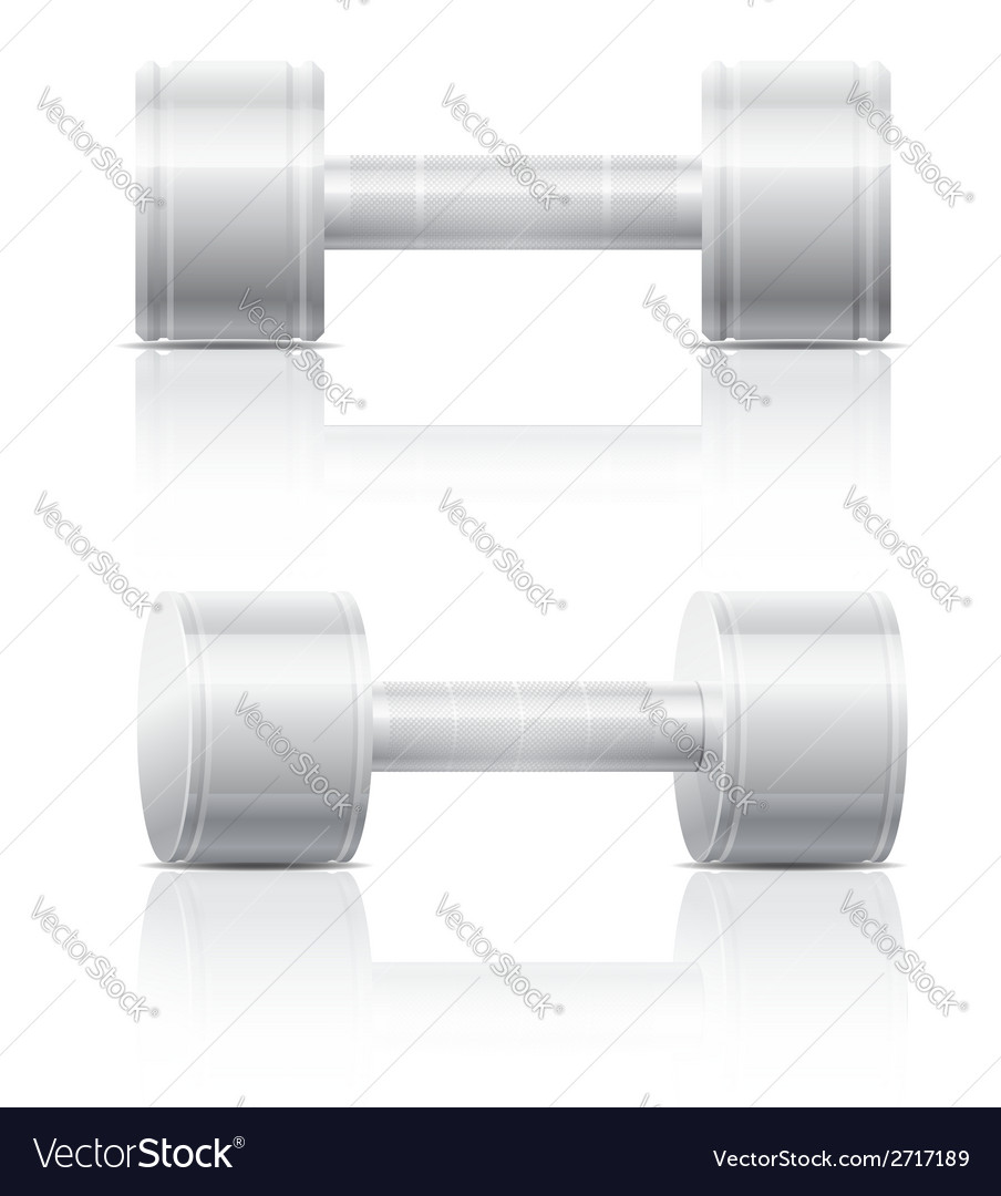 Dumbbells 07 vector | Price: 1 Credit (USD $1)