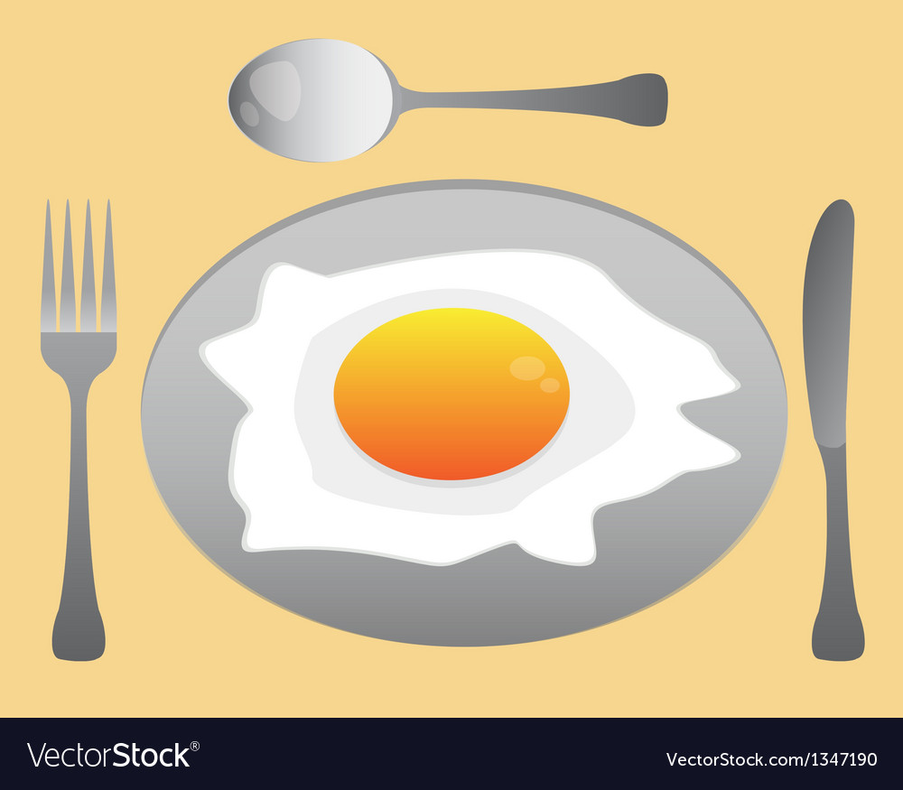 Eat egg vector | Price: 1 Credit (USD $1)