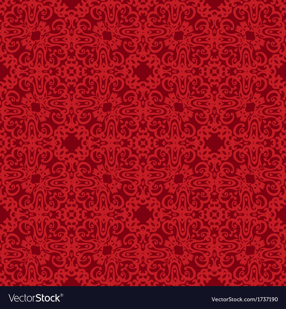 Seamless background red pattern backdrop vector | Price: 1 Credit (USD $1)