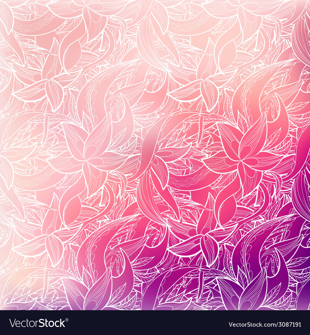 Abstract seamless hand-drawn pattern vector | Price: 1 Credit (USD $1)