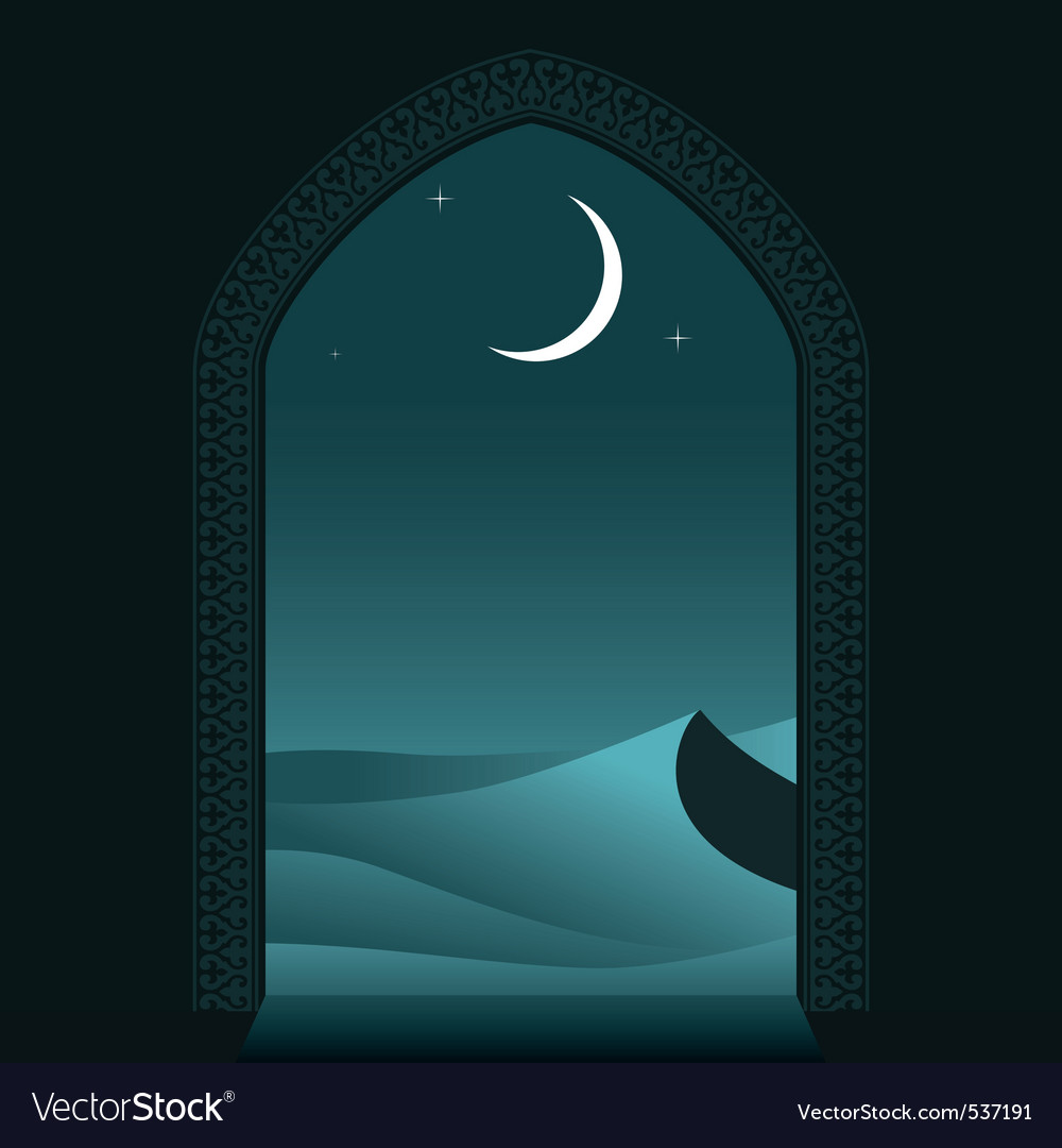 Arabian night vector | Price: 1 Credit (USD $1)