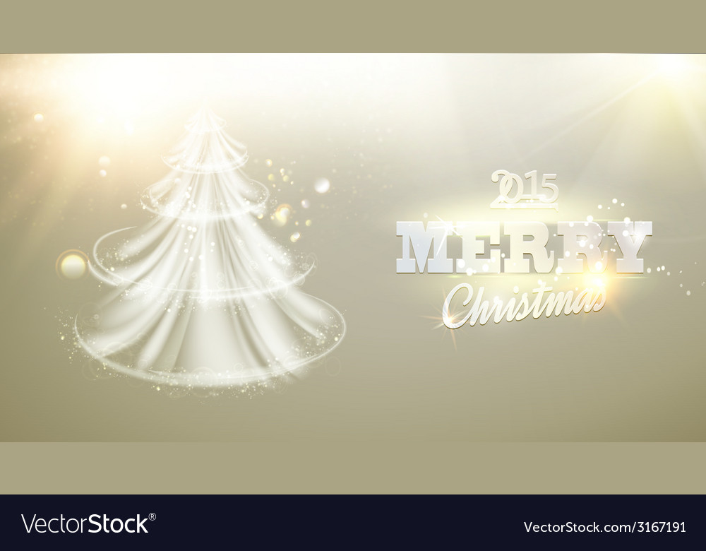 Christmas fir-tree vector | Price: 1 Credit (USD $1)