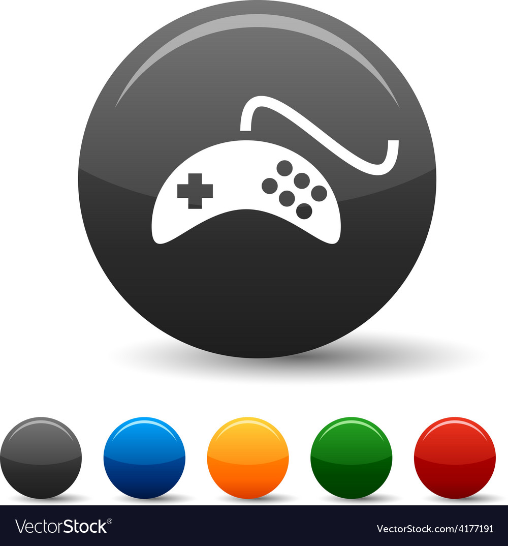 Gamepad icons vector | Price: 1 Credit (USD $1)