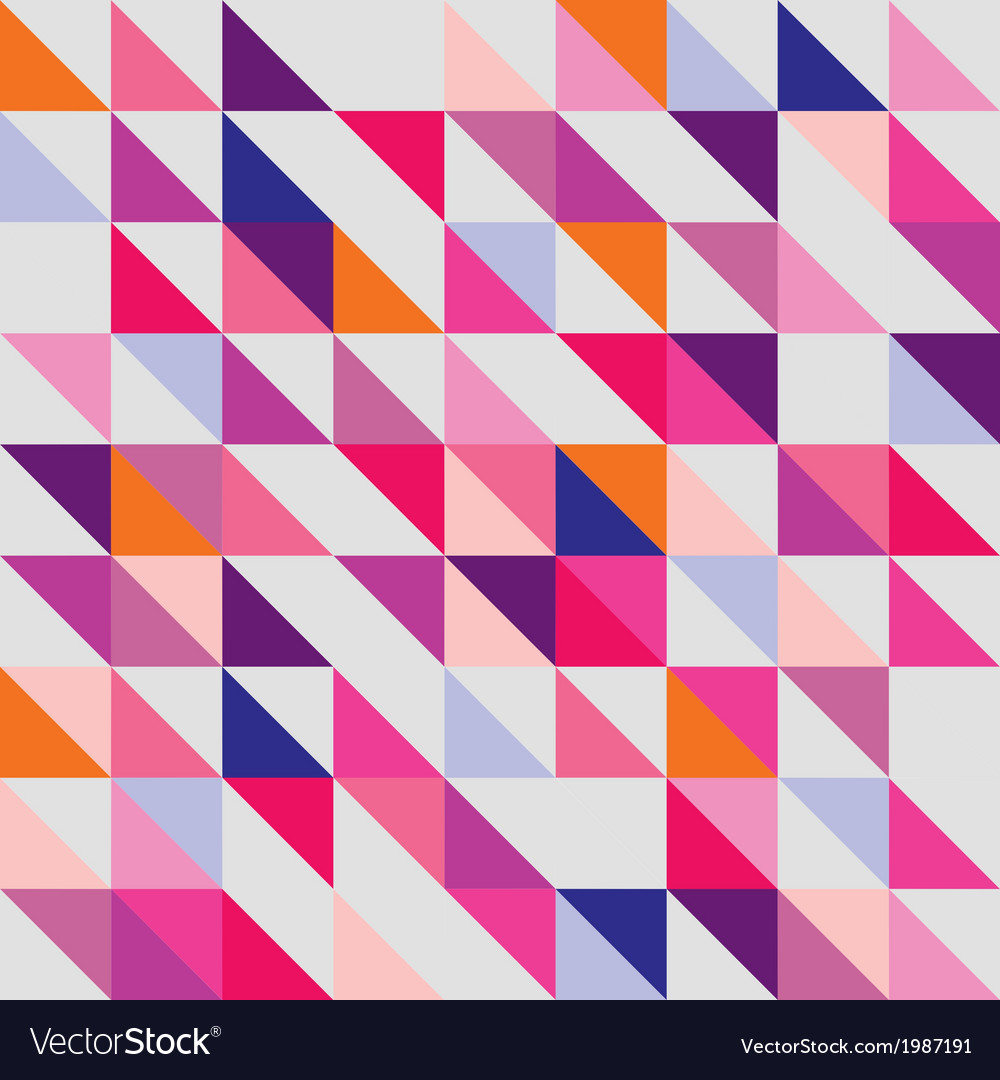 Seamless pink violet orange and white pattern vector   Price: 1 Credit (USD $1)