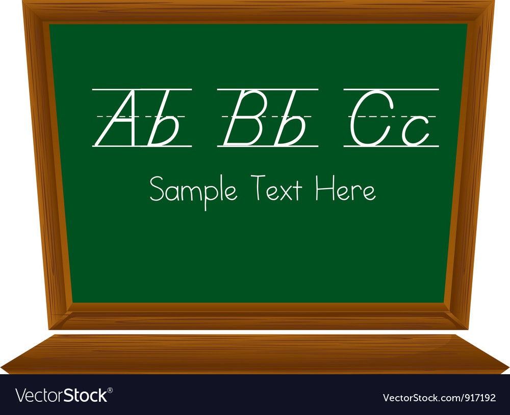 Blackboard vector | Price: 1 Credit (USD $1)
