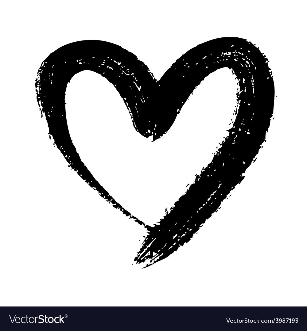 Doodle heart vector | Price: 1 Credit (USD $1)