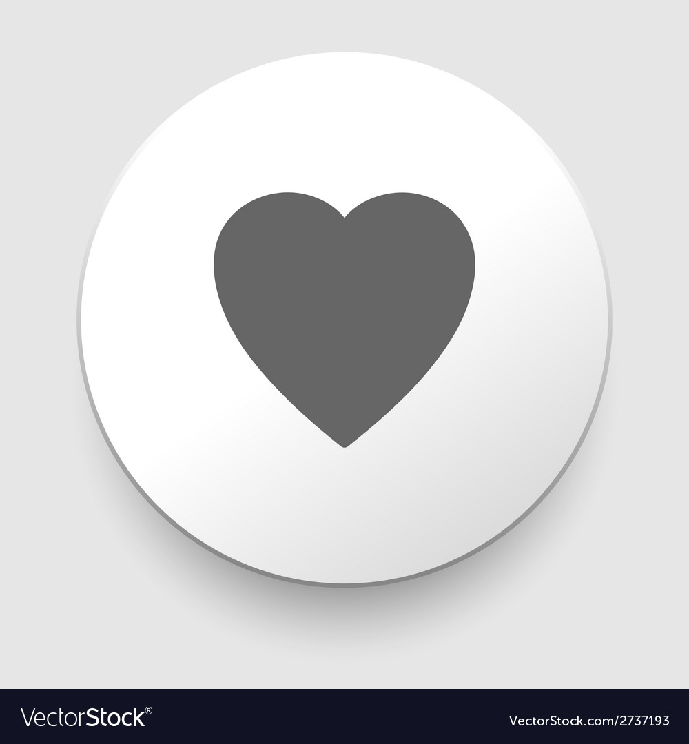 Hearth symbol vector | Price: 1 Credit (USD $1)