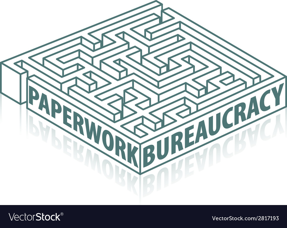 Paperwork and bureaucracy vector | Price: 1 Credit (USD $1)