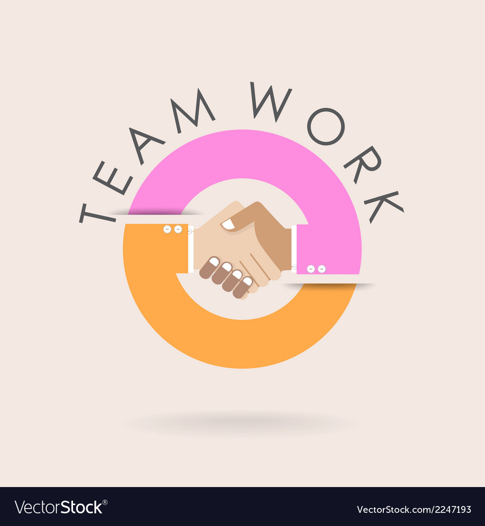 Teamwork vector | Price: 1 Credit (USD $1)