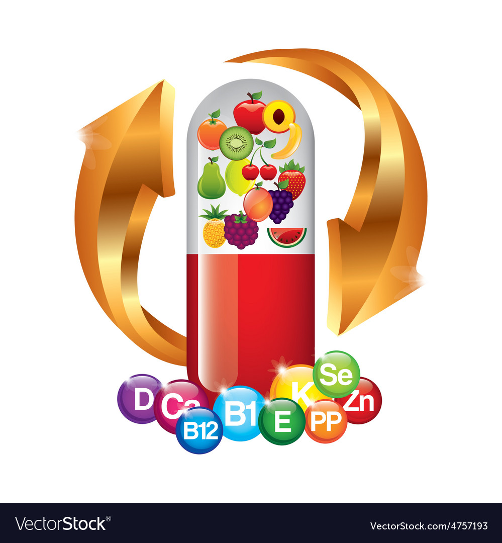 Vitamins and suplements vector   Price: 1 Credit (USD $1)