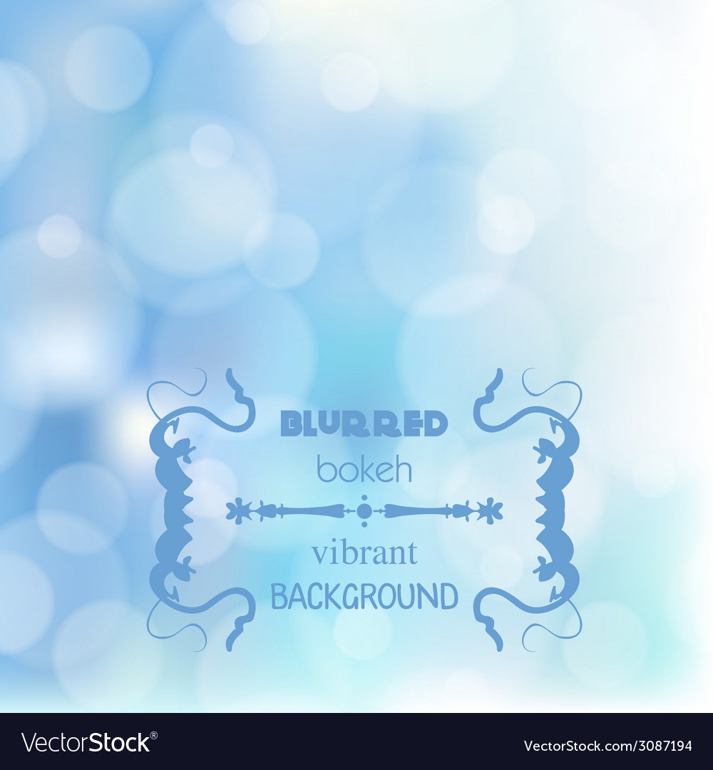 Abstract blur bokeh bright color background vector | Price: 1 Credit (USD $1)