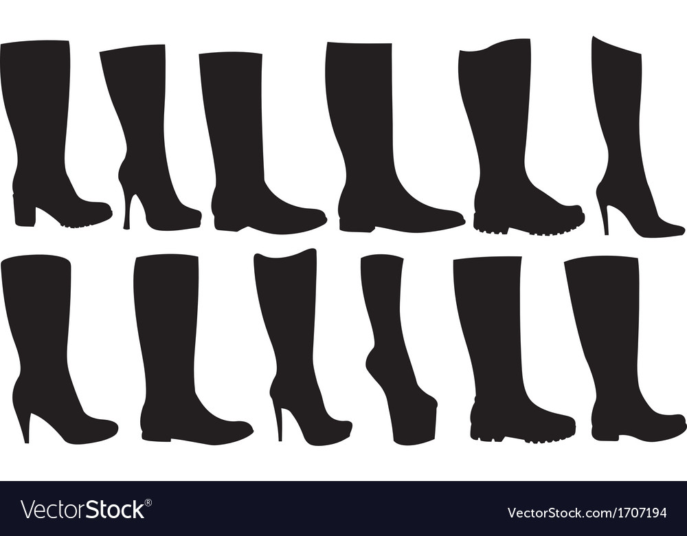 Boots vector | Price: 1 Credit (USD $1)