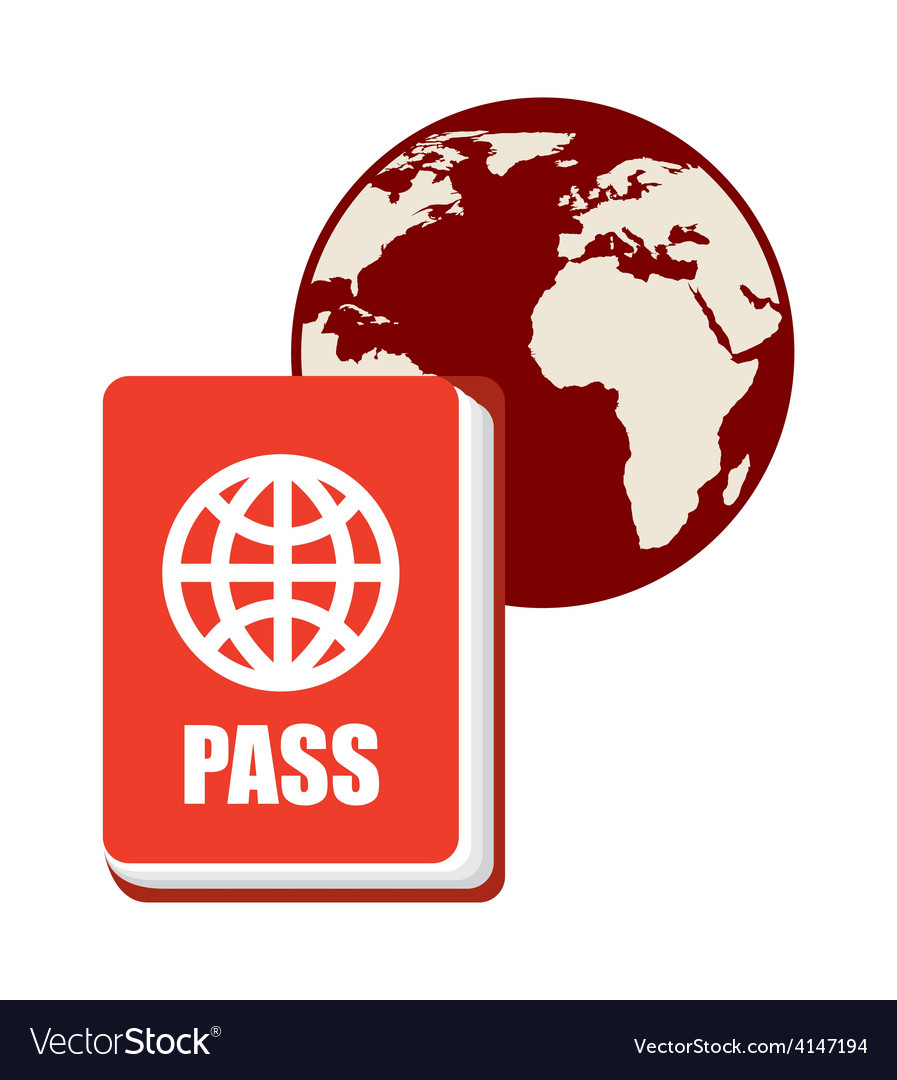 Passport world vector | Price: 1 Credit (USD $1)