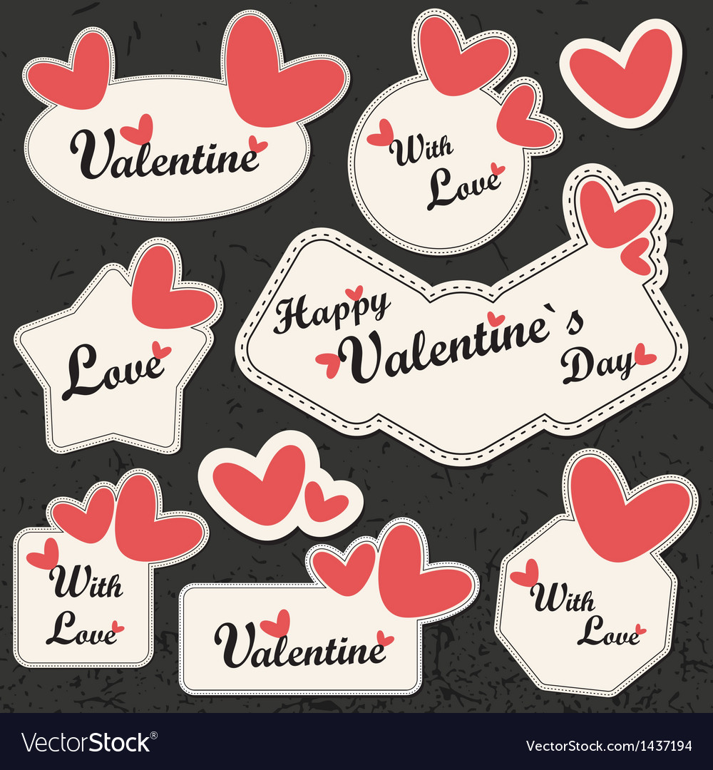Valentines day card vector | Price: 3 Credit (USD $3)