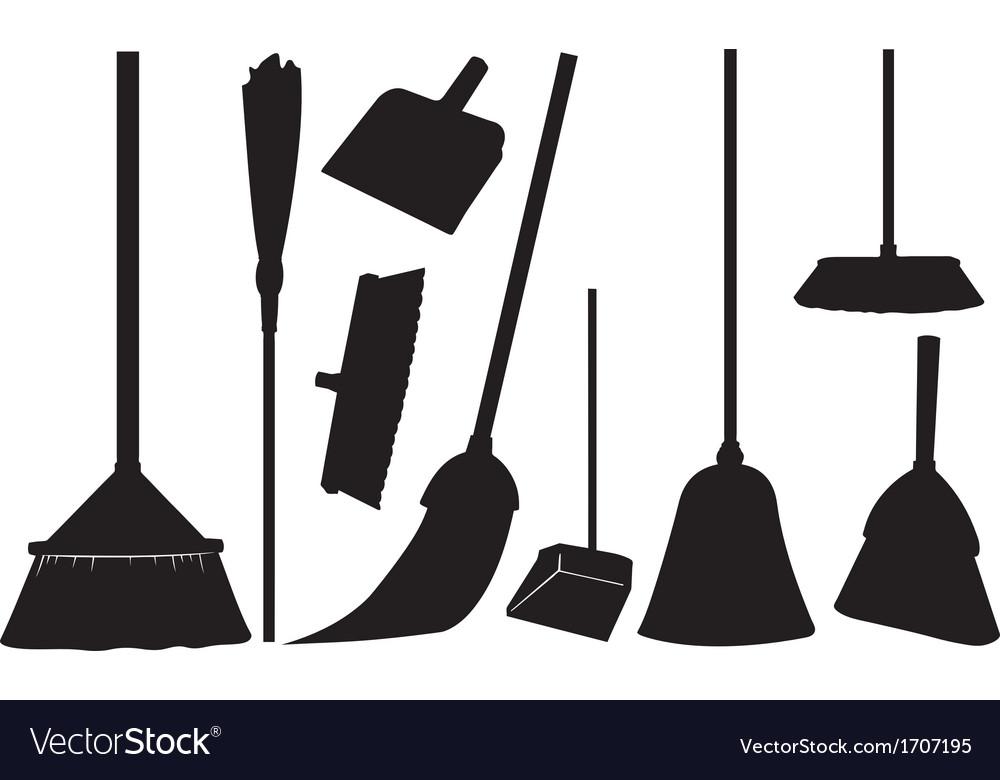 Brooms vector | Price: 1 Credit (USD $1)