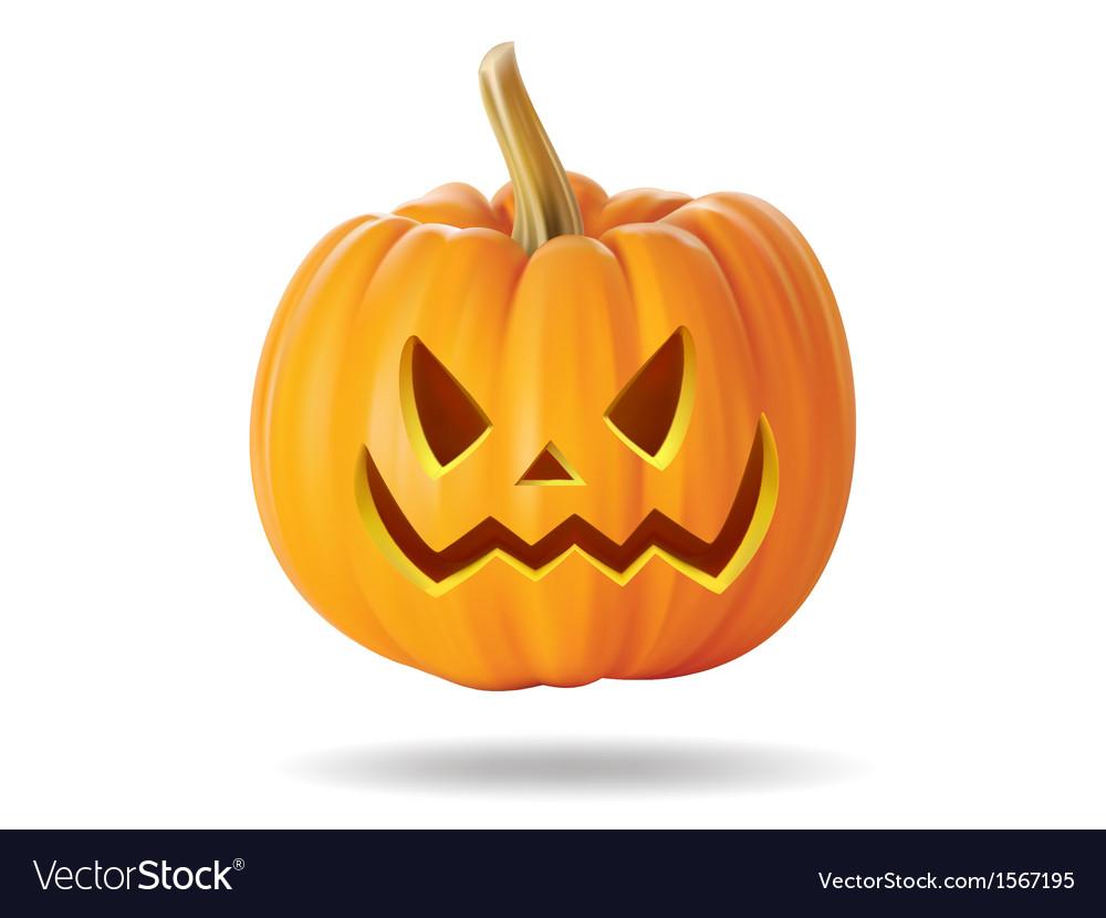Pumpkin smile2 vector | Price: 1 Credit (USD $1)