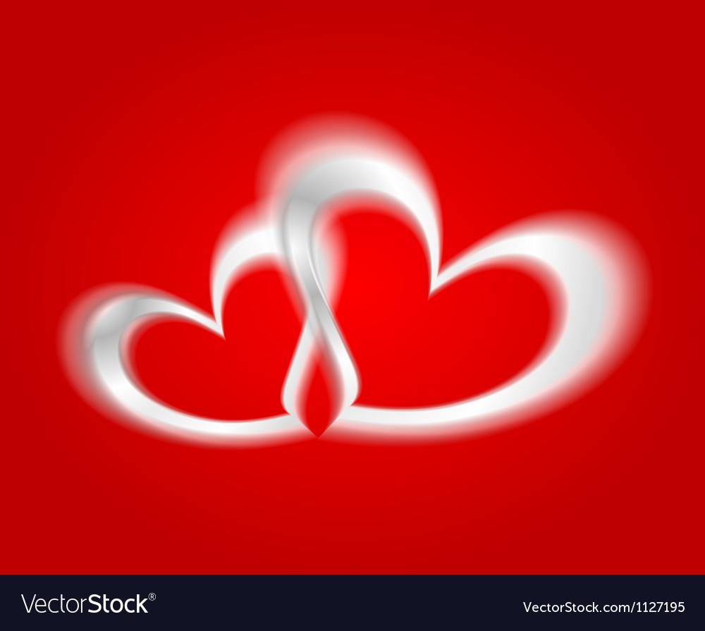 White hearts on the red backdrop vector   Price: 1 Credit (USD $1)