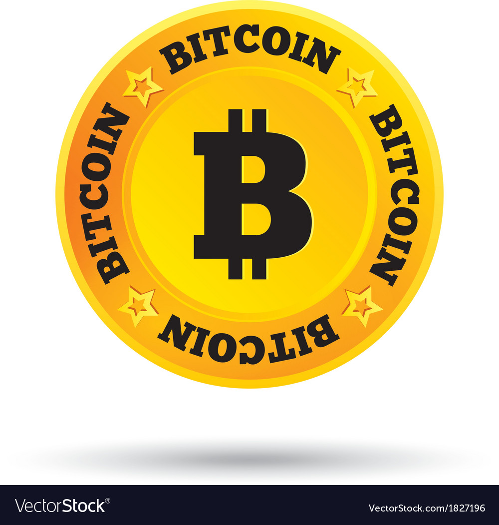 Bitcoin cryptography currency open source p2p vector | Price: 1 Credit (USD $1)