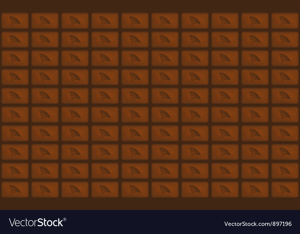 Chocolate bar vector | Price: 1 Credit (USD $1)
