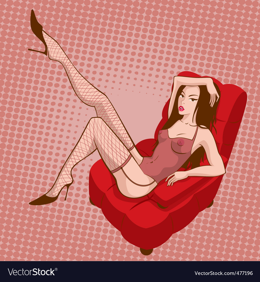 Sexy girl vector | Price: 3 Credit (USD $3)