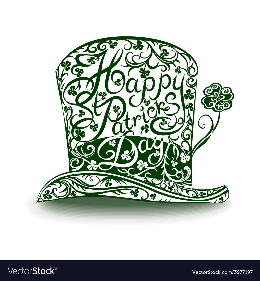 Leprechaun hat vector | Price: 1 Credit (USD $1)