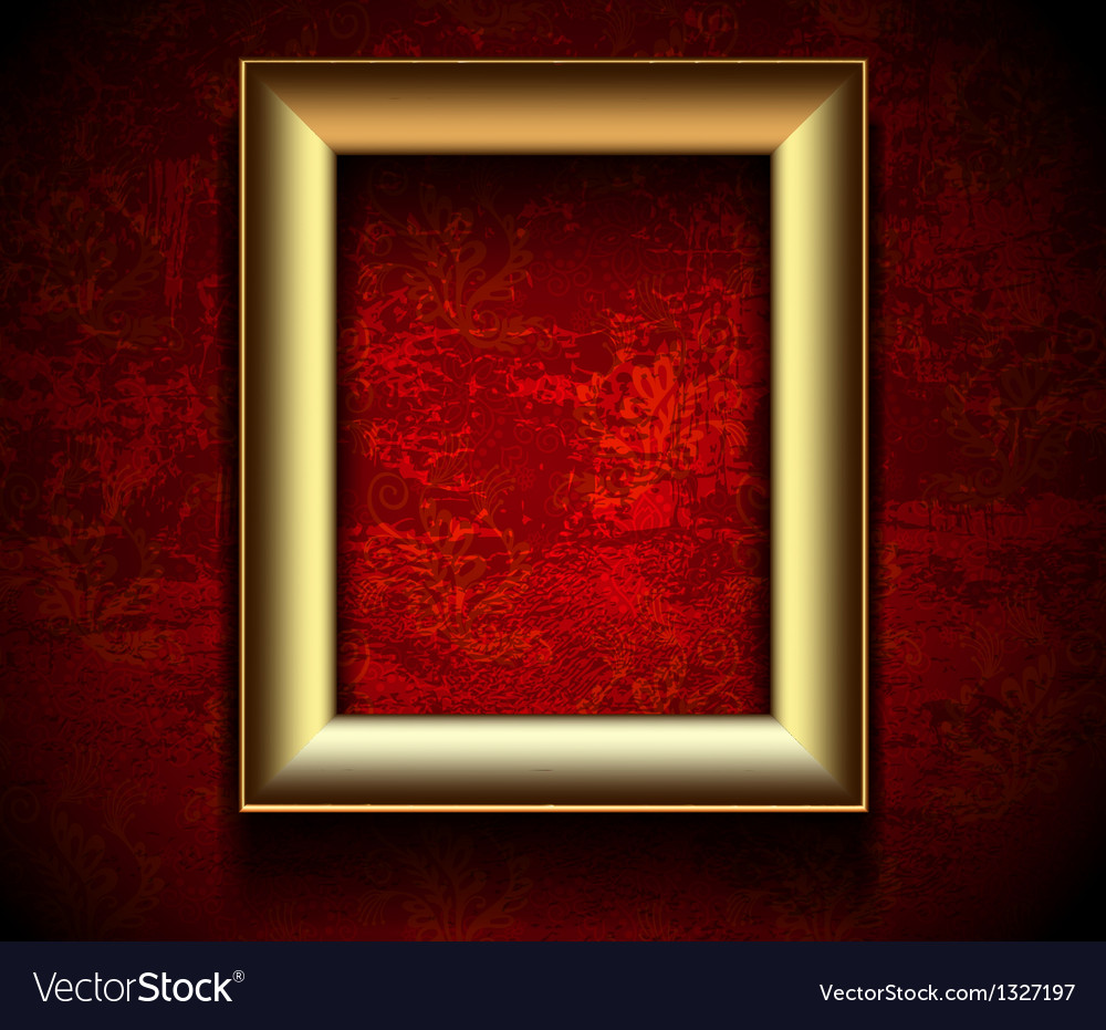 Picture frame wallpaper background vector | Price: 3 Credit (USD $3)
