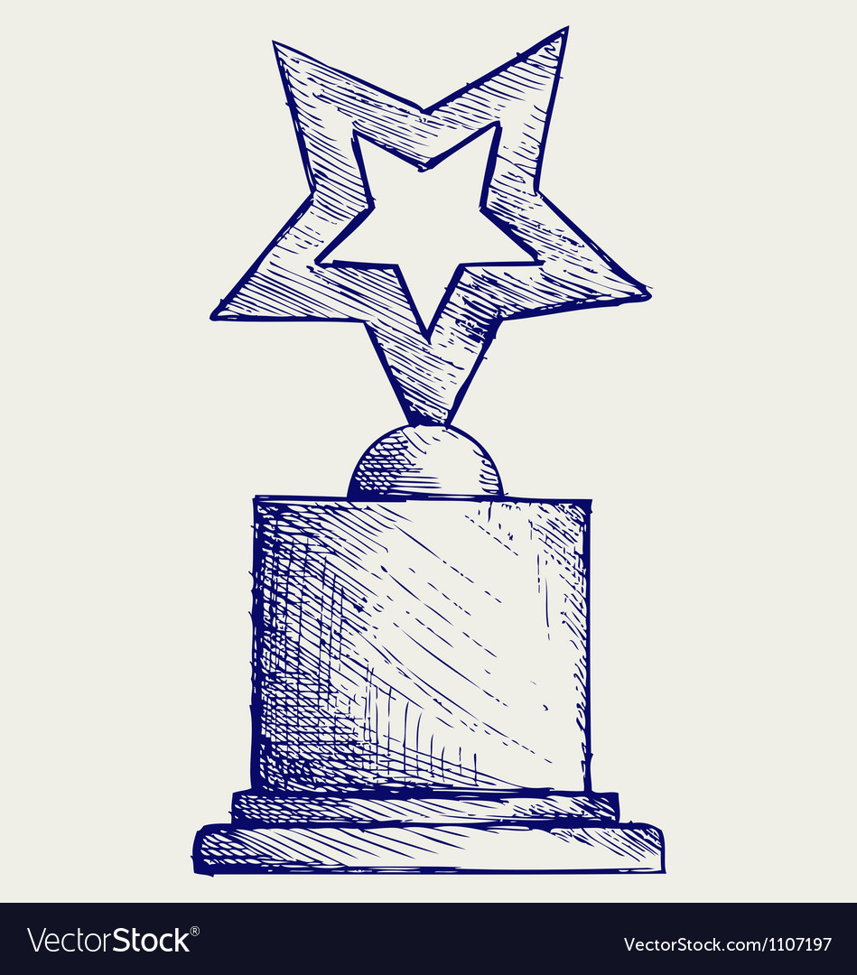 Star award against vector | Price: 1 Credit (USD $1)